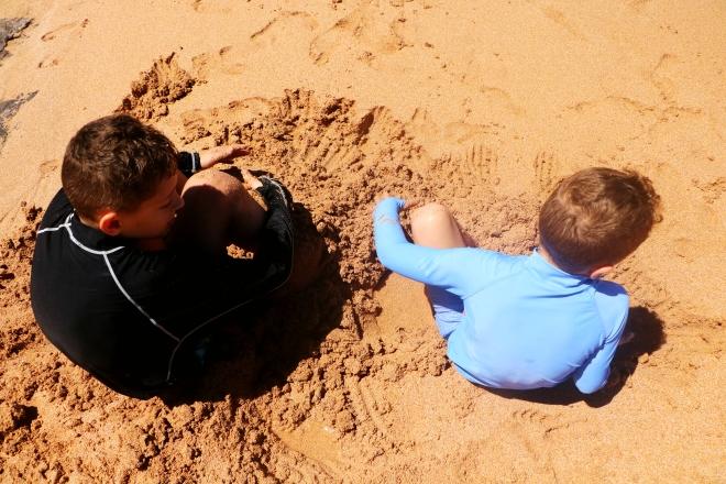 Boys Sand