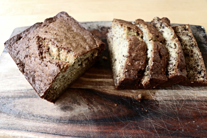 Banana Bread Best Served Farmhouse Style