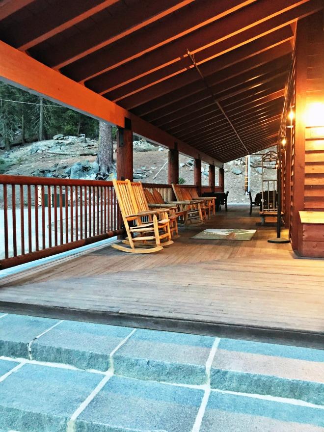 John Muir Lodge entry