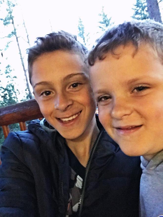 Levi and Riley at John Muir
