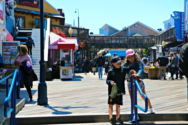 Minnie and RJ Pier 39