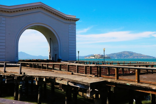 Pier and Alcatraz