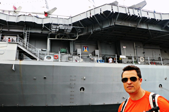 Shane at USS Midway