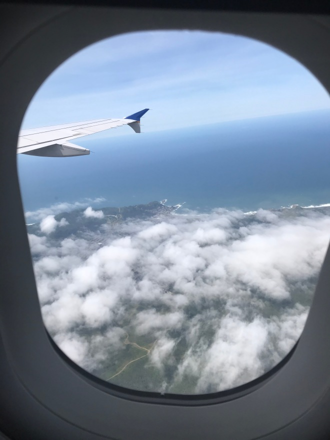 Flying into the US